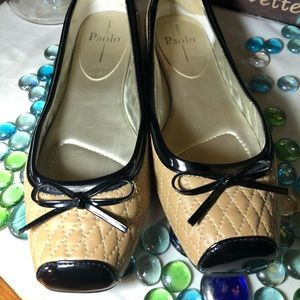 Paolo Leather Flats